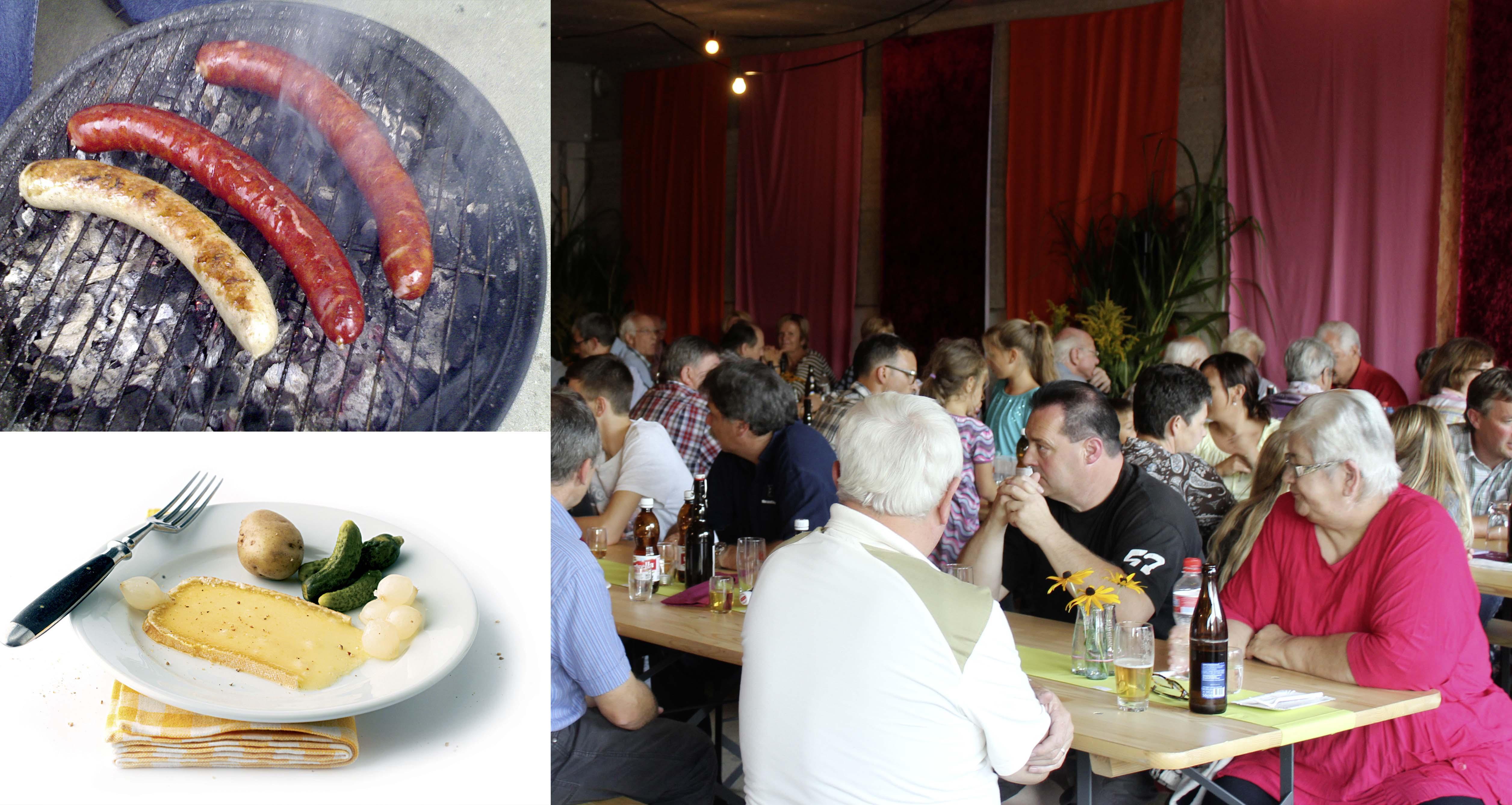 Raclette- und Grillplausch – Samstag, 27. August, ab 17 Uhr
